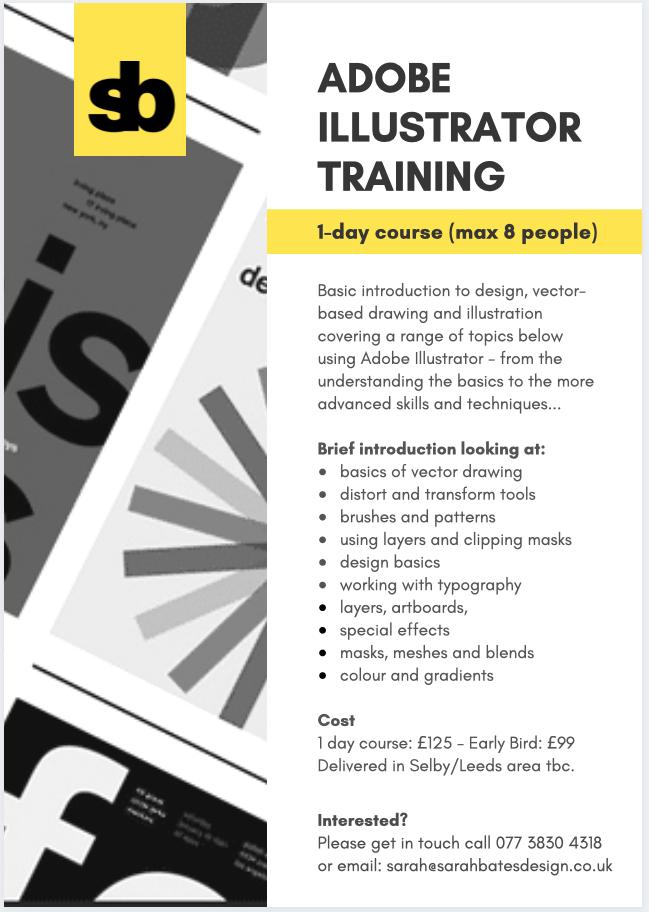Adobe Illustrator 1 day course