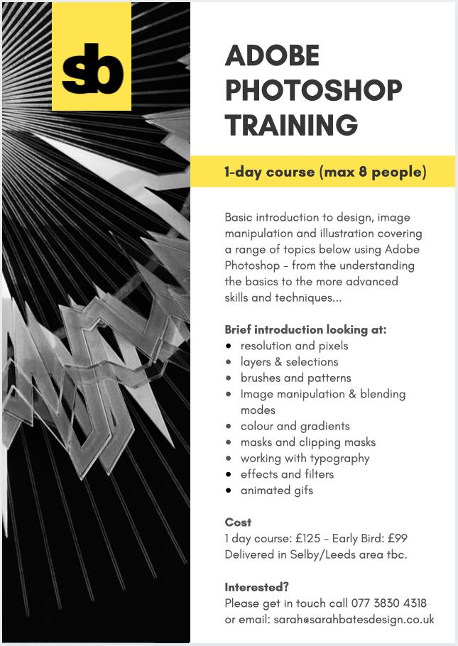 Adobe Photoshop 1 day Course