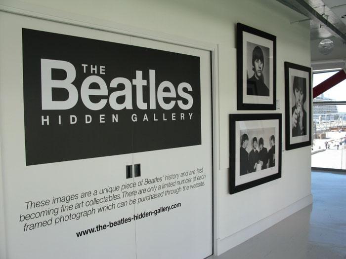 Logo Design + Exhibition Design | The Beatles Hidden Gallery