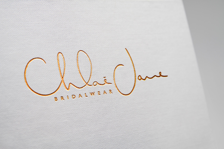 Logo Design + Print Design | Chloe Jane Bridalwear