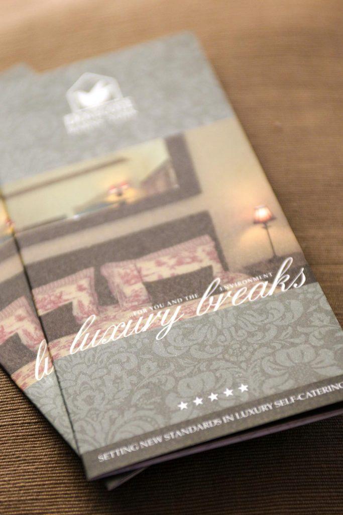 Logo Design + Print Design | Dovecote Barns