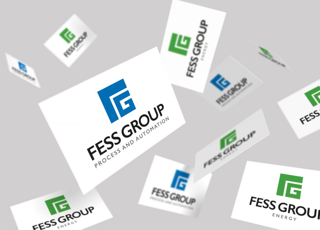 Fess Group branding sarah bates design
