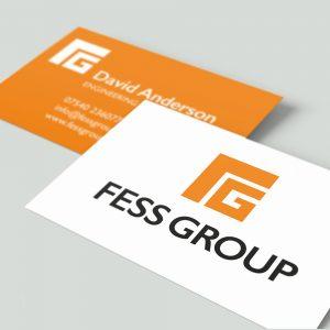 Business card branding Fess