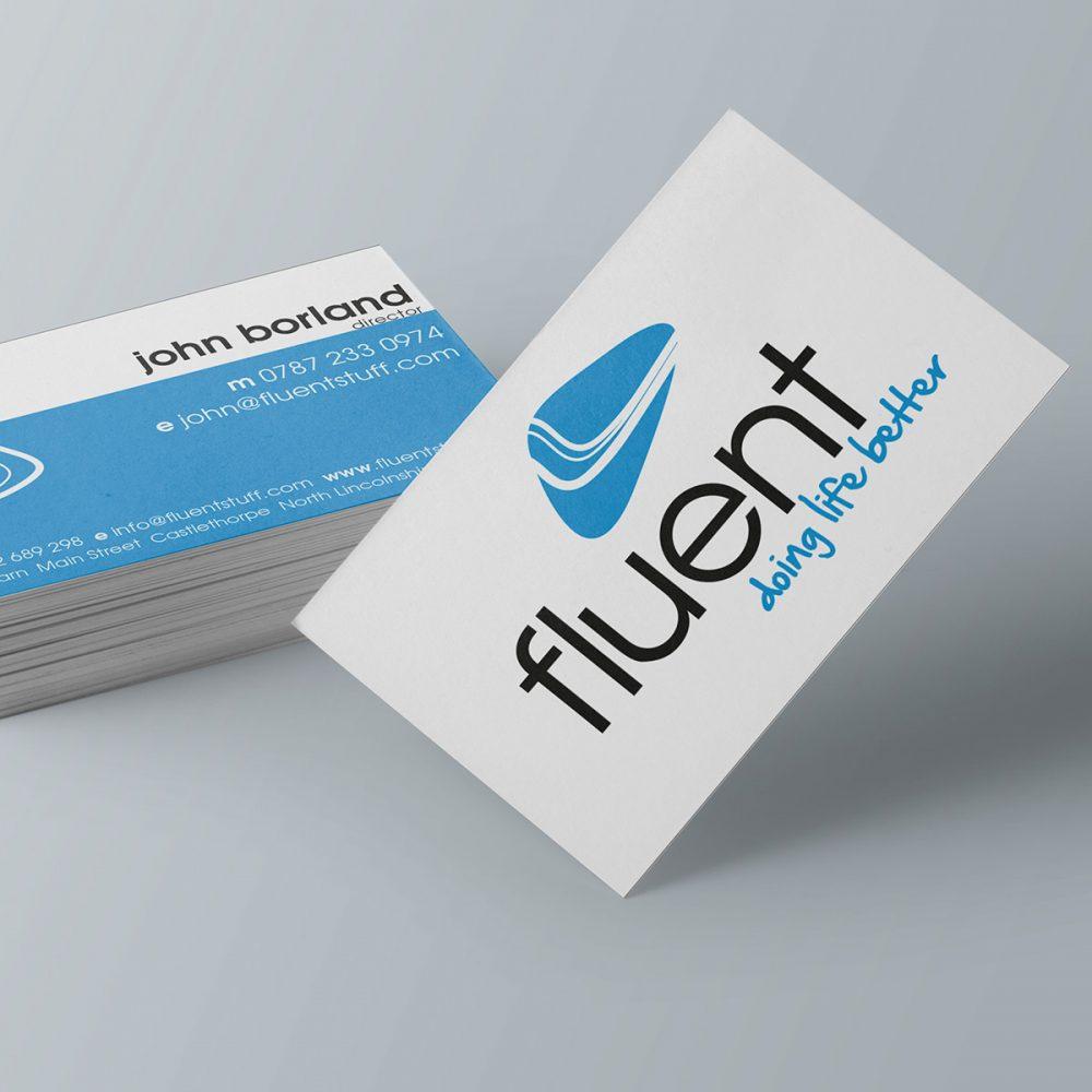 Fluent Coaching logo design